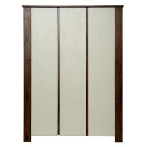armoire chambre couleur marron achat vente armoire. Black Bedroom Furniture Sets. Home Design Ideas