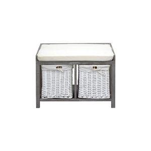 banc avec panier achat vente banc avec panier pas cher soldes cdiscount. Black Bedroom Furniture Sets. Home Design Ideas