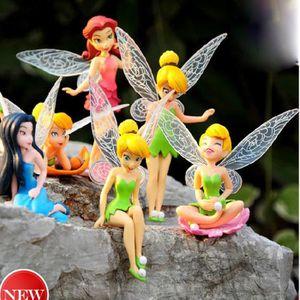 POUPÉE Disney Fairies – un lot de 6 Poupées Mannequin - R