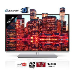 Téléviseur LED TOSHIBA 40L5435DG Smart TV 3D 102 cm