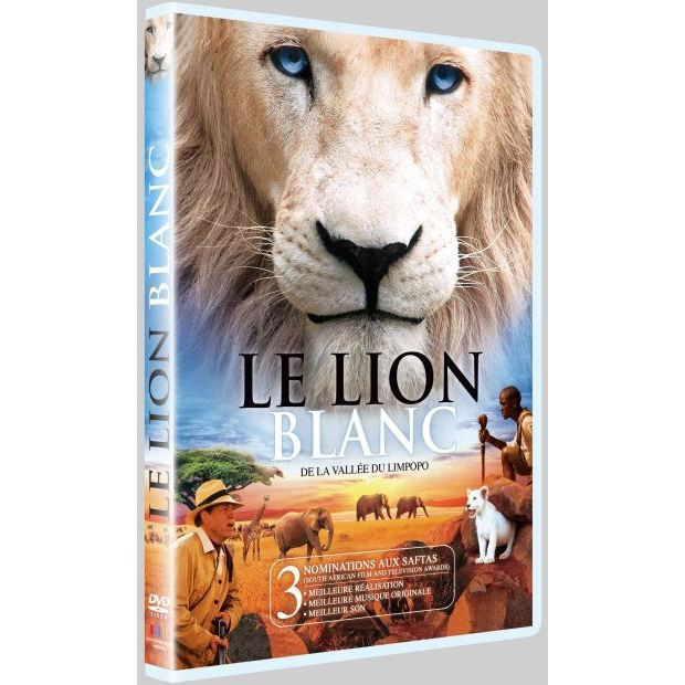 dvd le lion blanc de la vall e du limpodo en dvd film pas cher cdiscount. Black Bedroom Furniture Sets. Home Design Ideas
