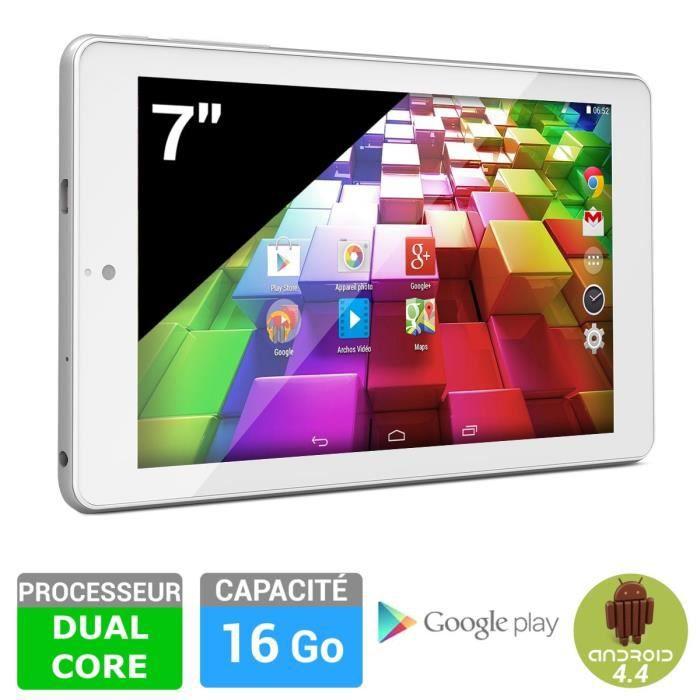 informatique tablettes tactiles ebooks archos  carbon go reconditionnee f