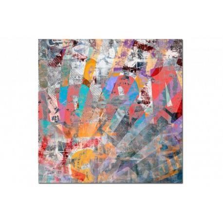 Tableau abstrait honda 50x50 cm achat vente tableau toile cdiscount - Vente tableau abstrait ...