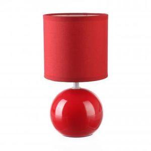 abat jour 25cm rouge achat vente abat jour 25cm rouge pas cher cdiscount. Black Bedroom Furniture Sets. Home Design Ideas