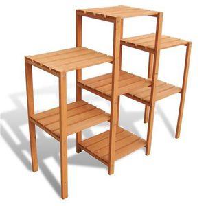etagere pour plantes achat vente etagere pour plantes pas cher cdiscount. Black Bedroom Furniture Sets. Home Design Ideas