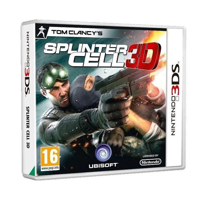 splinter cell 3d jeu console 3ds achat vente jeux 3ds splinter cell 3d jeu 3ds cdiscount. Black Bedroom Furniture Sets. Home Design Ideas