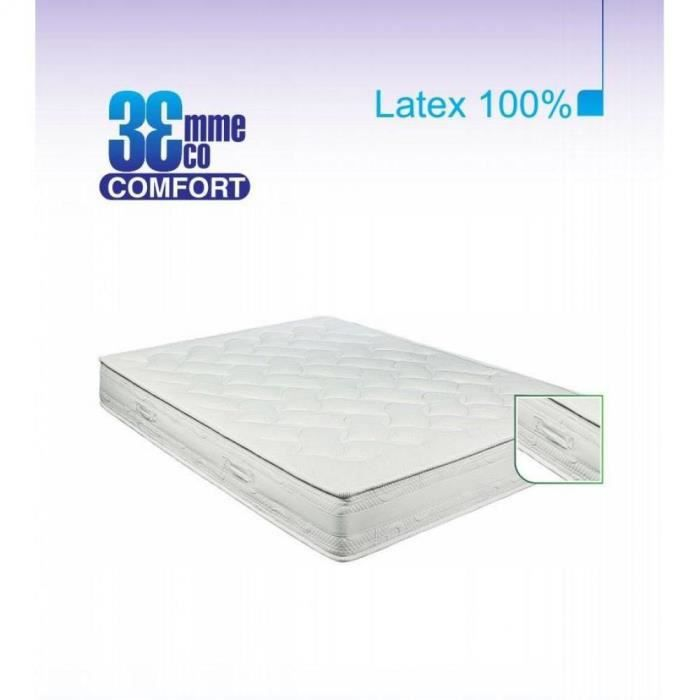 matelas eco confort 100 latex 7 zones 160 achat. Black Bedroom Furniture Sets. Home Design Ideas