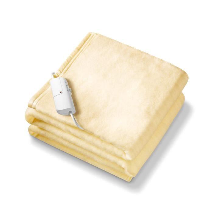linge de lit parure de drap beurer king size heate achat vente parure de drap cdiscount. Black Bedroom Furniture Sets. Home Design Ideas
