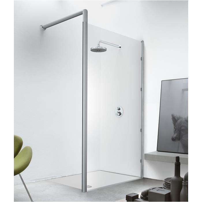 paroi de douche sun1 110 cm version droite achat vente douche receveur paroi de douche. Black Bedroom Furniture Sets. Home Design Ideas