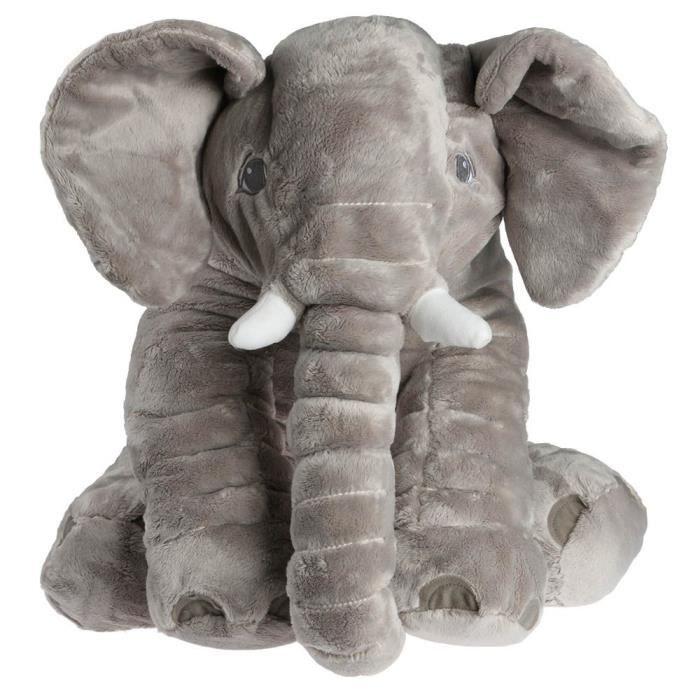 Souple Oreiller Bébé Poupée Éléphant Lit de Bébé Siège de Voiture ...