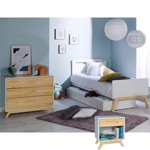 Chambre a coucher bois massif achat vente chambre a coucher bois massif pas cher soldes - Chambre enfant soldes ...