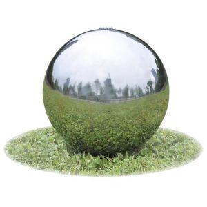 Fontaine boule achat vente fontaine boule pas cher for Sphere led exterieur