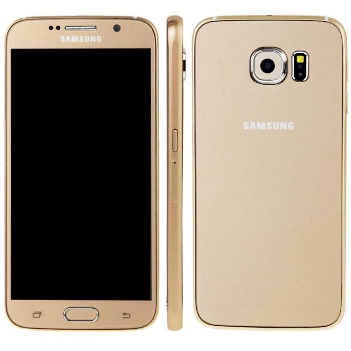 t l phone factice samsung galaxy s6 gold achat. Black Bedroom Furniture Sets. Home Design Ideas