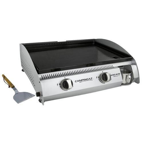 Barbecue de table campingaz adelaide plancha achat for Camping gaz barbecue plancha