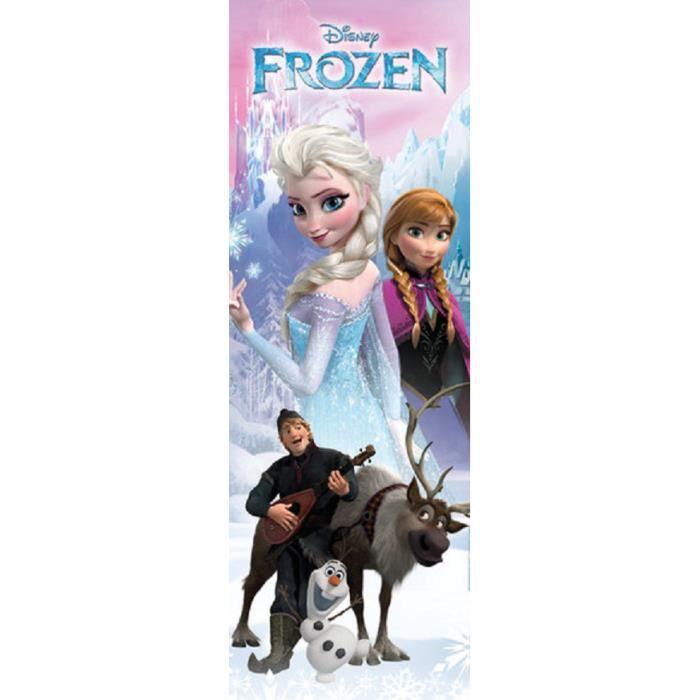 frozen poster reine des neiges grand poster achat. Black Bedroom Furniture Sets. Home Design Ideas