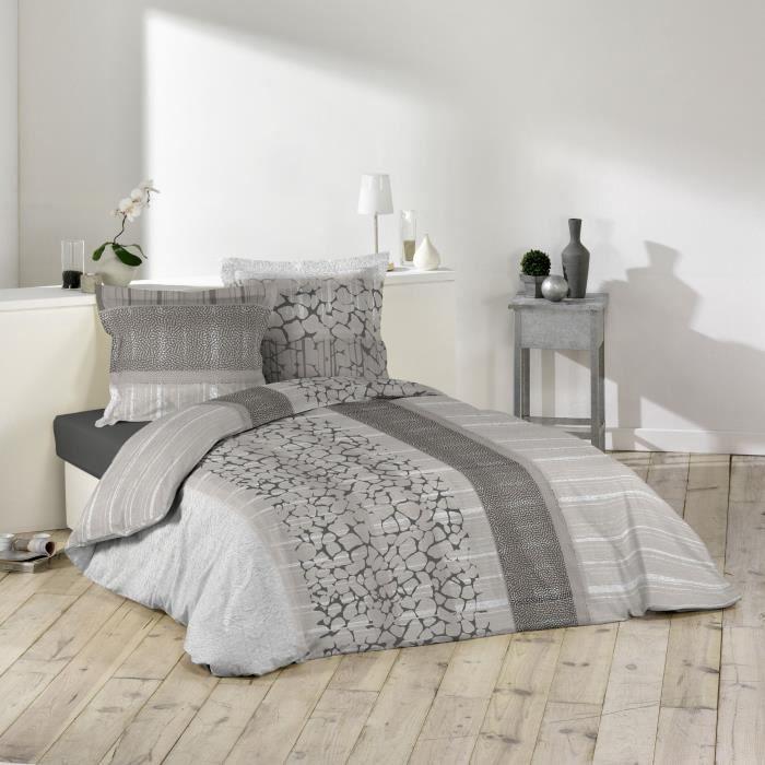 parure de couette 100 coton 57 fils 260x240 scalia. Black Bedroom Furniture Sets. Home Design Ideas