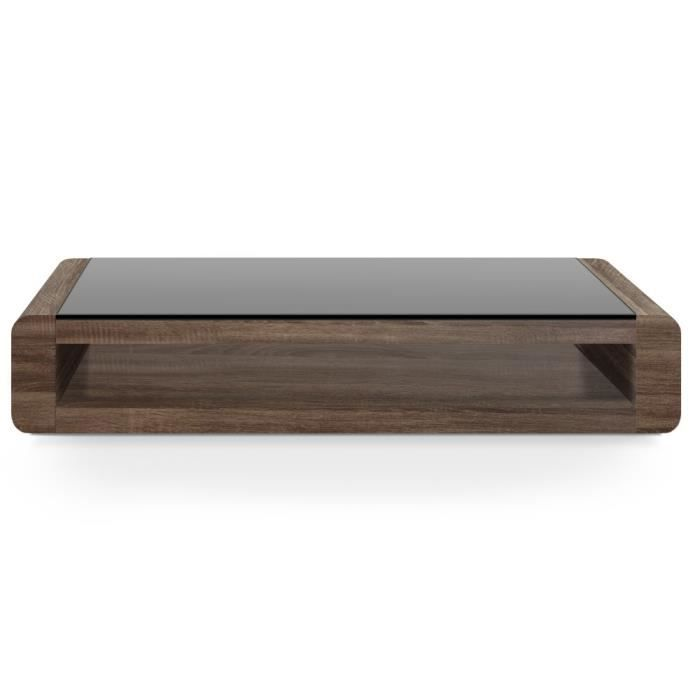 Table basse loungy wenge achat vente table basse table basse loungy wenge - Table basse wenge but ...