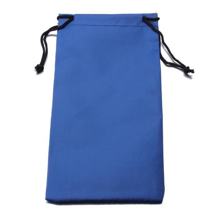 tui pochette sac lunettes de soleil vue housse poche protection tissu bleu achat vente. Black Bedroom Furniture Sets. Home Design Ideas