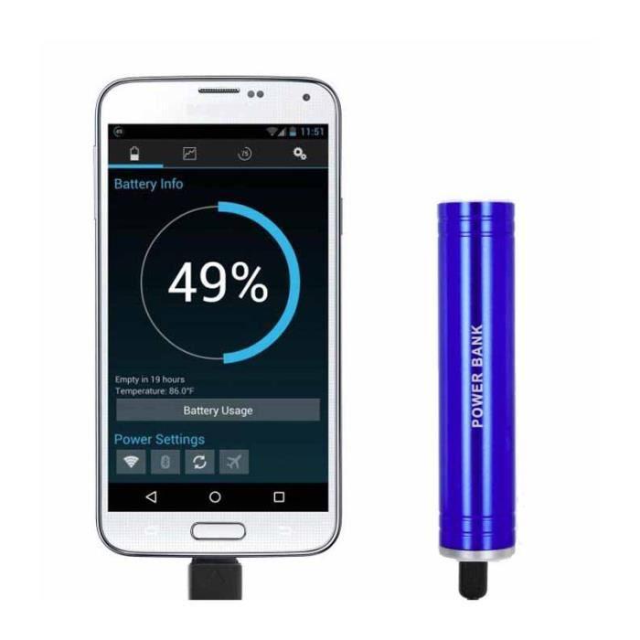 chargeur batterie externe portable 6000mah pour samsung galaxy a5 2017 bleu achat batterie. Black Bedroom Furniture Sets. Home Design Ideas