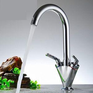 cuisine en cuivre vier robinet m lange chaud et froid double main monotro robinet vertical. Black Bedroom Furniture Sets. Home Design Ideas