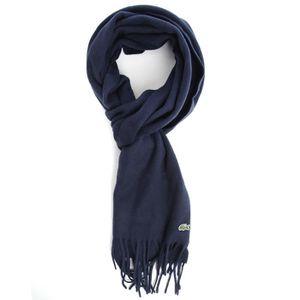 ECHARPE - FOULARD Coffret echarpe laine cachemire marine pour homme