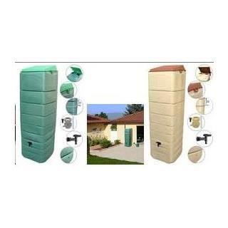 R cup rateur eau de pluie mural 300 litres vert achat vente collecteur e - Recuperateur eau de pluie ...