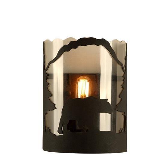 Applique lampe murale r tro mur de feu ours pour salon chambre couloir acha - Applique pour couloir ...