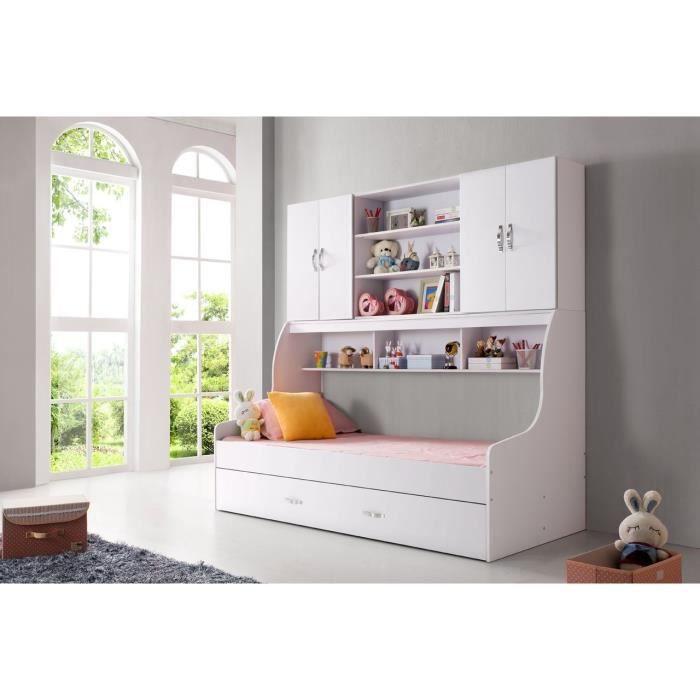 lit enfant belco 506 multifonction achat vente lit complet lit enfant belco 506 multif. Black Bedroom Furniture Sets. Home Design Ideas