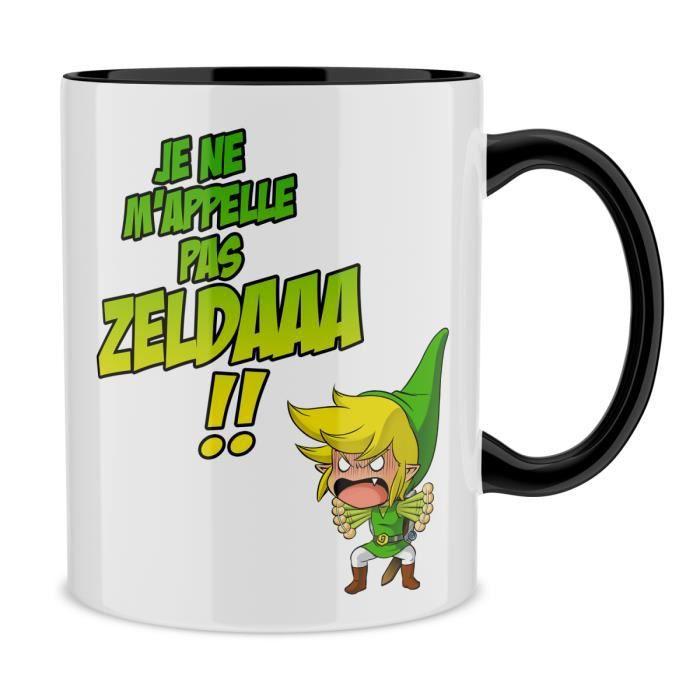 Mug jeux vid o parodie zelda un coup de gue achat for Achat maison zelda