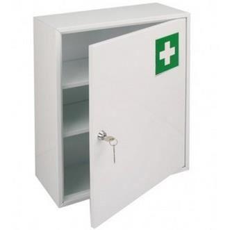 Armoire pharmacie m tal blanche 1 porte achat vente - Armoire 1 porte blanche ...