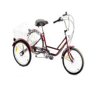 velo tricycle adulte achat vente pas cher cdiscount. Black Bedroom Furniture Sets. Home Design Ideas