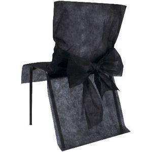 Housse de chaise jetable achat vente housse de chaise for Housses de chaises en tissu