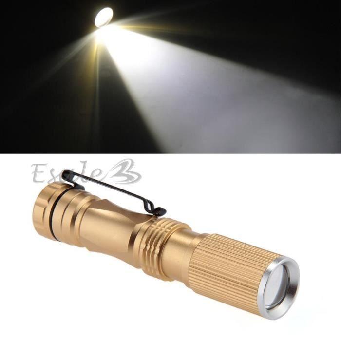 cree q5 led 600lm zoomable mini le de poche torche lumi 232 re le r 233 glable prix pas cher