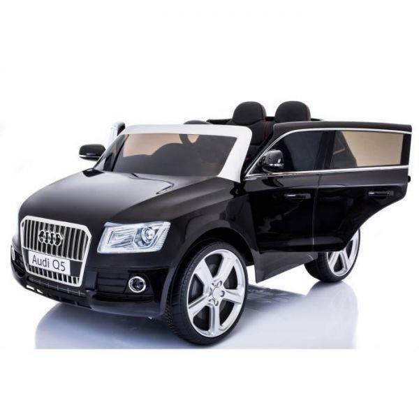 voiture lectrique pour enfant audi q5 noir achat vente voiture enfant soldes cdiscount. Black Bedroom Furniture Sets. Home Design Ideas