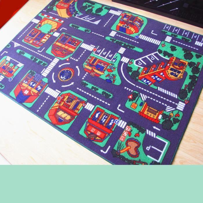 Kaki Haute Qualite Tapis Circuit De Jeu Tapis De Jeux Raduno Tapis Pour Enfants Tapis De Jeu