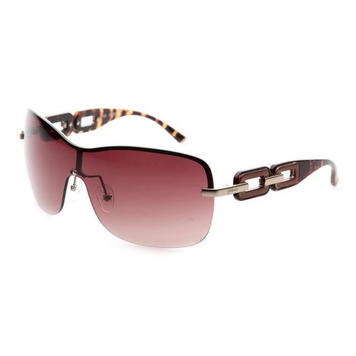 lunettes de soleil femme guess marron achat vente lunettes de soleil femme adulte marron. Black Bedroom Furniture Sets. Home Design Ideas