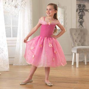 DÉGUISEMENT - PANOPLIE Déguisement costume robe de princesse rose 4 à 5 a