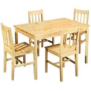 Ensemble table chaises de jardin en bois achat vente ensemble table chaises de jardin en for Ensemble table et chaise de jardin en bois pas cher
