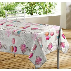nappe macarons achat vente nappe macarons pas cher cdiscount