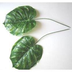 6 feuilles de palme polyester 50 cm achat vente d co for Housse de coussin 30x60
