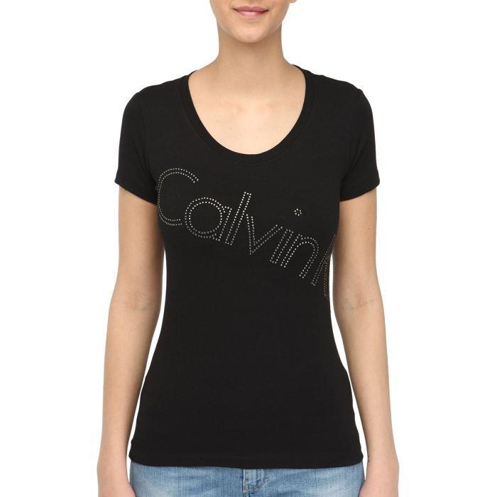 l 39 effet des v tements top tee shirt femme klein. Black Bedroom Furniture Sets. Home Design Ideas
