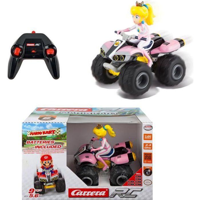 Nintendo mario voiture quad t l command e peach carrera 1 20 achat vente voiture camion - Mario kart wii voiture ...