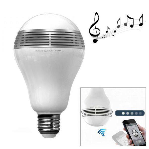 ampoule bluetooth led musicale haut parleur int gr apple android haut parleur deux roues. Black Bedroom Furniture Sets. Home Design Ideas