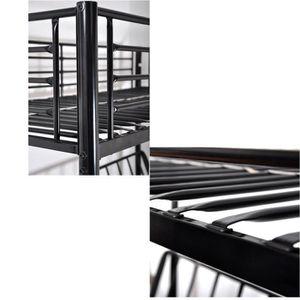 lit mezzanine 2 places avec escalier top lit mezzanine x. Black Bedroom Furniture Sets. Home Design Ideas