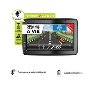 """GPS AUTO TOMTOM VIA 135 M, GPS 5"""", 45 pays - Cartes gratuit"""