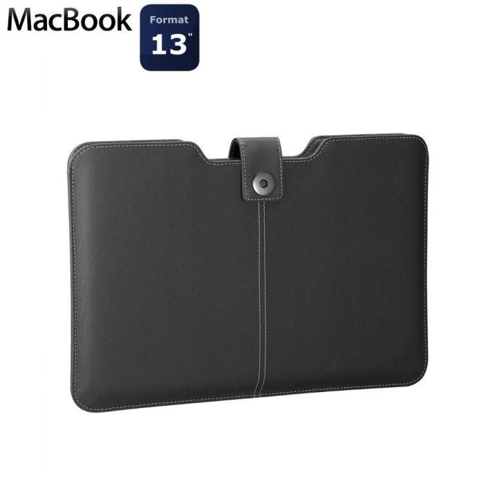 Targus housse noire 13 3 macbook tbs609eu prix pas cher for Housse macbook 13
