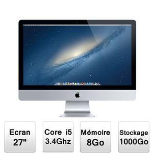 """ORDINATEUR TOUT-EN-UN Apple Tout en Un iMac 27"""" ME089F/A"""