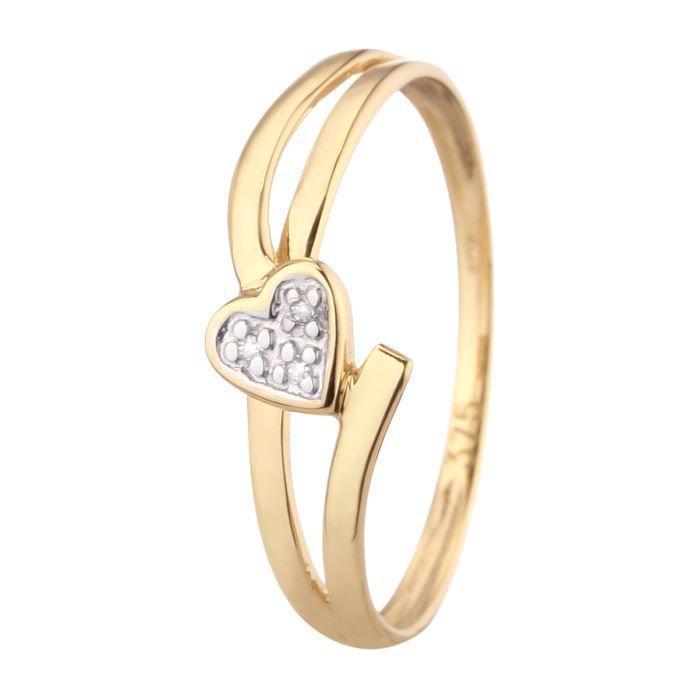 BAGUE - ANNEAU MONTE CARLO STAR Bague Or 375/1000 et Diamants