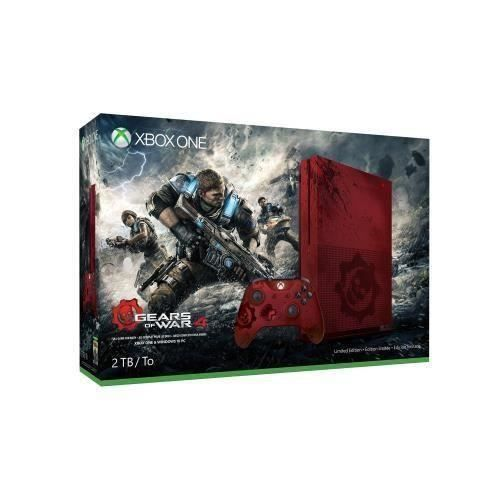 Destockage xbox one s 2to gears of war 4 limited edition for Meuble xbox one