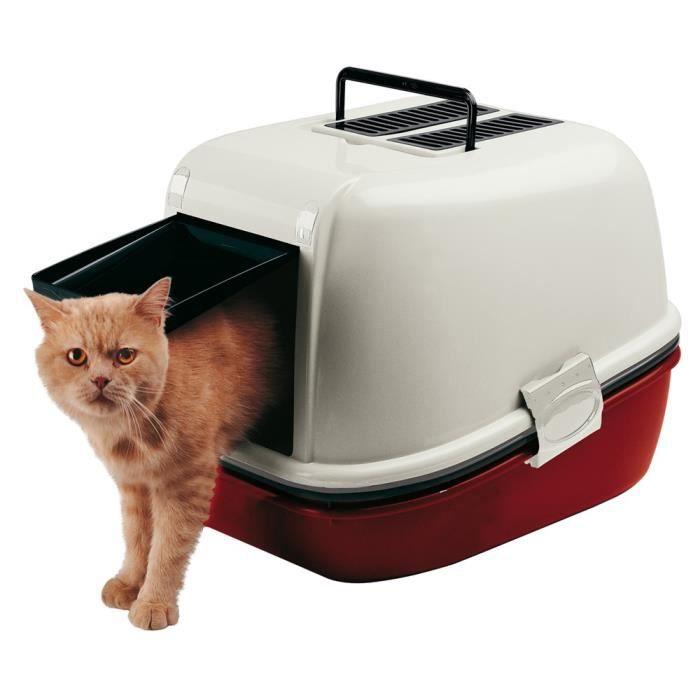 magix maison de toilette pour chat achat vente maison de toilette maison de toilette cdiscount. Black Bedroom Furniture Sets. Home Design Ideas